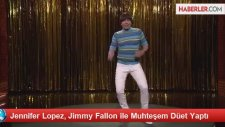 Jennifer Lopez, Jimmy Fallon ile Muhteşem Düet Yaptı