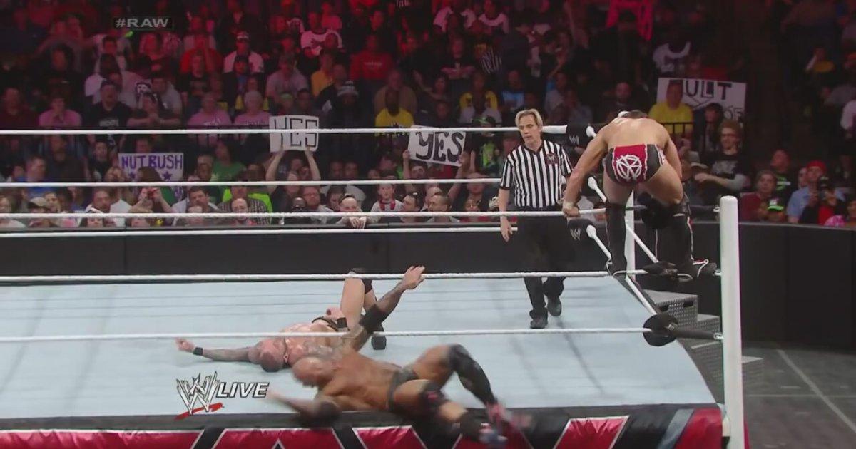 Daniel Bryan Big Show Vs Batista Randy Orton Raw