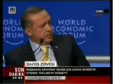 Recep Tayyip Erdoğandan Davos'a Sert Tepki