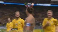 Zlatan İbrahimovic Mükkemel Bir Gol. / Sweden - England / İsveç - İngiltere Maçı.  14.11.2012