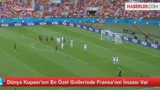 Dünya Kupası'nın En Özel Gollerinde Fransa'nın İmzası Var