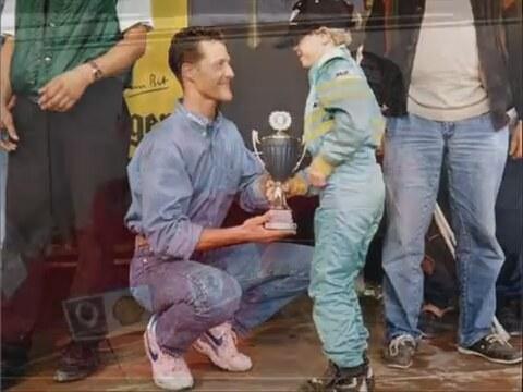 Michael Schumacher Komadan Cikti
