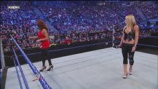 Wwe Smackdown - Michelle Mccool & Eve Torres Segment