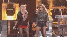 Carrie Underwood Ft. Miranda Lambert - Something Bad (Billboard Awards 2014 Canlı)