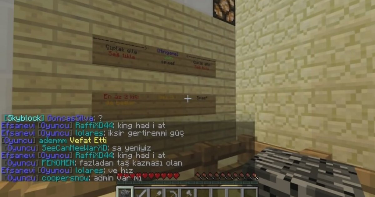 minecraft server tan t m. Black Bedroom Furniture Sets. Home Design Ideas