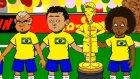 Brezilya-Meksika maçını bir de böyle izleyin