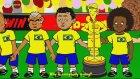 Brezilya - Meksika Maçı Çizgi Film Oldu!