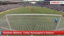 Obafemi Martins, Torku Konyaspor'a Geliyor