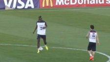 Valbuena ve Pogba antrenmanda şov yaptı!