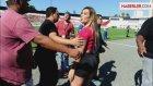Ronaldo Hayranı Andressa Urach, Antrenmandan Kovuldu