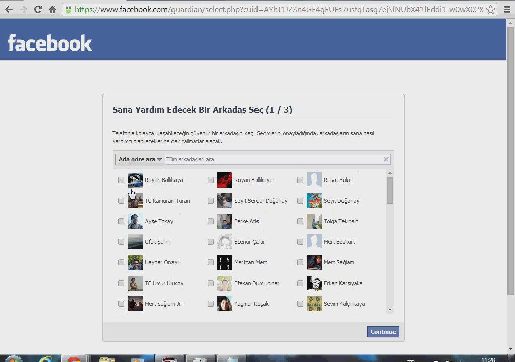 Facebook profil hackleme kodu