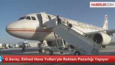 G.saray, Etihad Hava Yolları'yla Reklam Pazarlığı Yapıyor