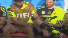 Diego Costa, Xabi Alonso'ya ağda yaptı