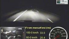 Yeni Renault Clio RS 200 EDC test (0-180 km/h, 100-0 km/h)
