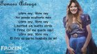 Frozen: Una Aventura Congelada - Libre Soy (Martina Stoessel) Letra
