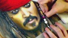 Çizim - Kaptan Jack Sparrow