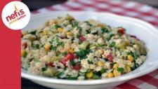 Yıldız Şehriye Salatası - Nefis Yemek Tarifleri