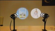 Logo Yansıt İle Evlilik Teklifi Yapın Resim,yazı,kalp,şekil Duvara Yansıtın