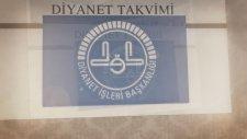 Diyanet Takvimi 20 Aralık 2013   Diyanet Tv