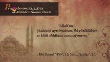 Peygamber Efendimiz (S.A.S)'den Günün Duası  | Diyanet TV