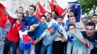Fransa'da Çeyrek Final Sevinci