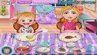 Bebek Bakma Oyunları - Hazel Bebek Yemek Yiyor