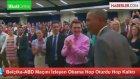 Belçika-ABD Maçını İzleyen Obama Hop Oturdu Hop Kalktı