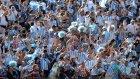 Arjantin Taraftarı İsviçre Galibiyetini Kutladı