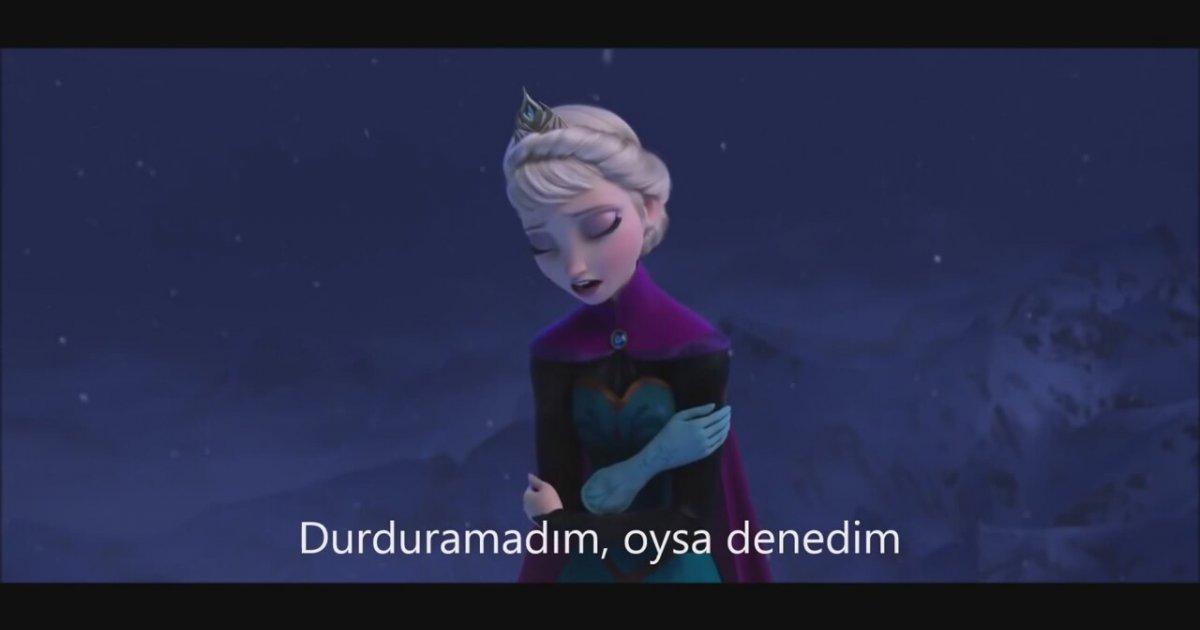 Elsa Aldırma Türkçe Lyrics - YouTube