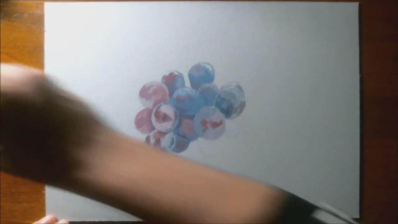 Salkım üzüm çizimi Izlesenecom