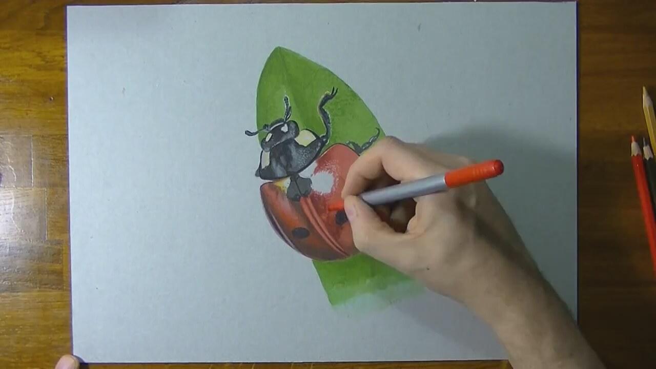 Uğur Böceği çizimi Izlesenecom