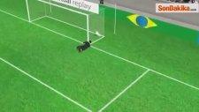 Brezilya Kolombiya'yı Yenerek Yarı Finale Yükseldi