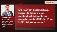 Özdağ: İşçilerin Maaşlarını CHP, MHP ve HDP Ödesin