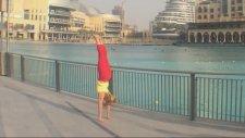 Yoga Dubai Handstand Splits Part Two