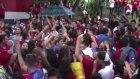 Kosta Rika Taraftarları Arasında Kavga