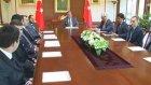 Milli Türk Talebe Birliği Heyeti Tarabya Köşkü'nde