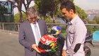 Cumhurbaşkanı Gül, Dünya Şampiyonu Millî Motosikletçi Sofuoğlu'nu Kabul Etti