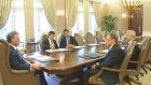 Cumhurbaşkanı Gül, TÜRMOB Genel Başkanı Sanlı'yı Kabul Etti