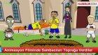 Animasyon Filminde Sambacıları Toprağa Verdiler