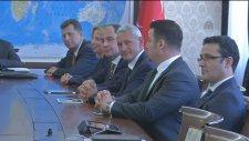 Başbakan Yardımcısı Babacan, Tüsiad'ı Kabul Etti - Ankara