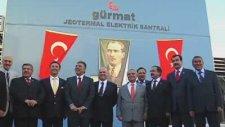 Cumhurbaskani Gül'den Demokrasiye Geçis Gününde Efeler Diyarina Ziyaret -Elektrik Santralı