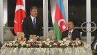 """Türk-Azeri Kardesligi: """"Sehit Kanlariyla Ispatlanmis Bir Kardeslik""""-Akşam Yemeği"""