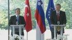 Türkiye-Slovenya: Balkanlari Kusatan Örnek Is Birligi-Türk'ün Basın Açıklaması