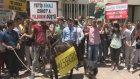 Yeni Ulaşım Düzenlemesine Eşekli Protesto - İzmir