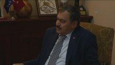 Bakan Eroğlu, Ab Türkiye Delegasyonu Başkanı Manservisi'yi Kabul Etti - Ankara