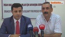 Demirtaş, Mazlum-Der Genel Başkanı Ünsal'ı Ziyaret Etti