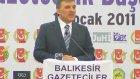 Cumhurbaskani Gül'e Balikesir'de, Diyarbakir'daki Gibi Sevgi Seli-Gazeteciler Cemiyeti - Konuşma