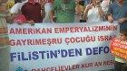İsrail'in Gazze Saldırılarının Protesto Edilmesi - İstanbul