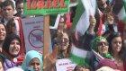 İsrail'in Gazze Saldırılarının Protesto Edilmesi - Lahey