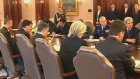 Brezilya Savunma Bakanını Kabul